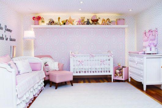 quarto decorado rosa