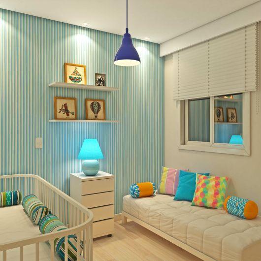 quarto pequeno moderno