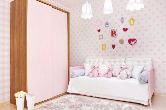 cama rosa