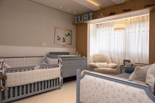 quarto azul bebê