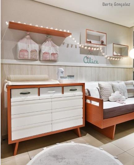 móveis modernos quarto bebê