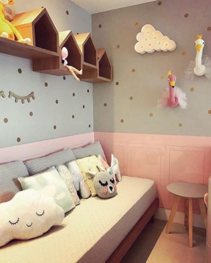 quarto decorado bebê