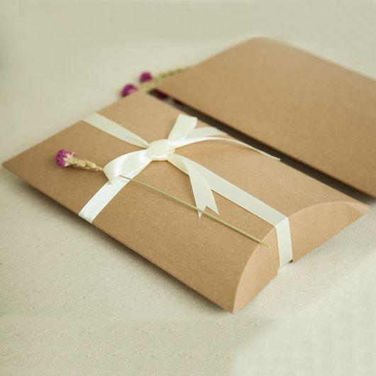 embalagem presente papel kraft