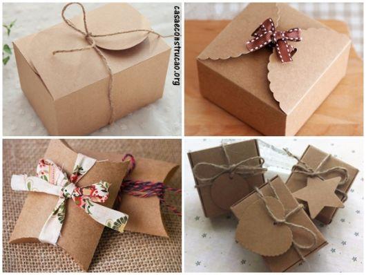 modelos com papel kraft
