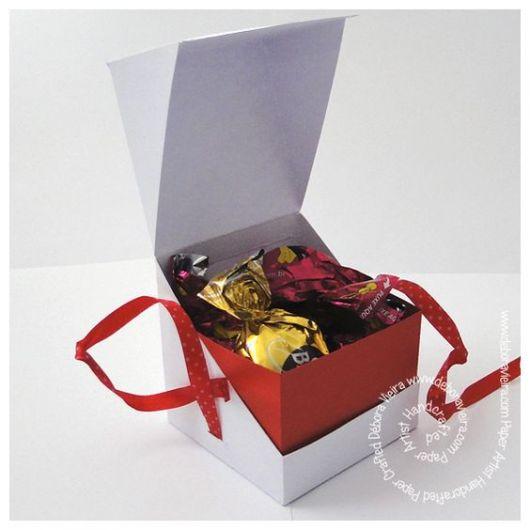 caixa para chocolate