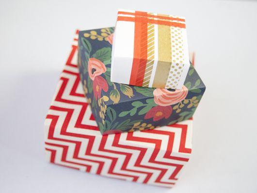 modelos de caixas de presente
