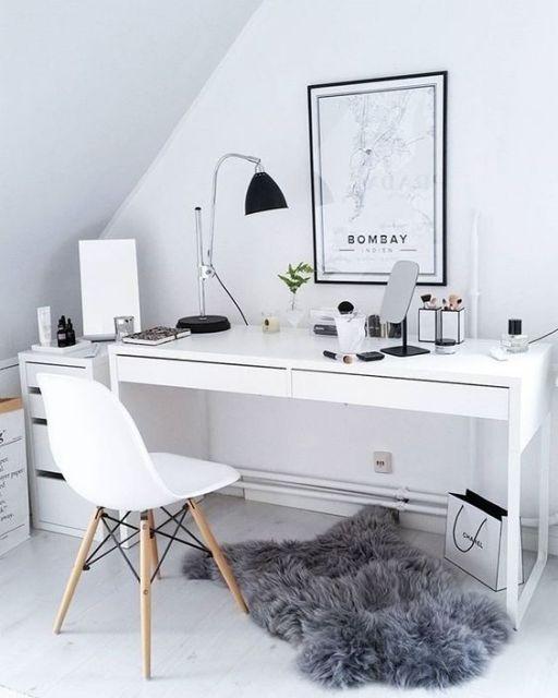 escrivaninha simples MDF