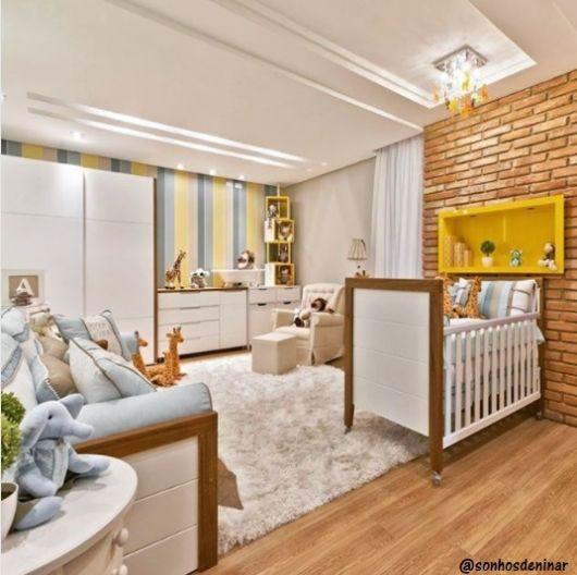 decoração moderna quarto bebê