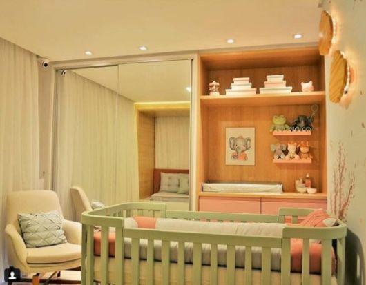 quarto moderno bebê menina