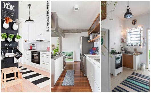 tapetes para cozinha