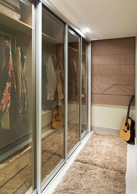 tapete closet