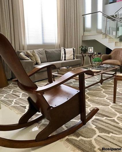 cadeira de madeira vintage