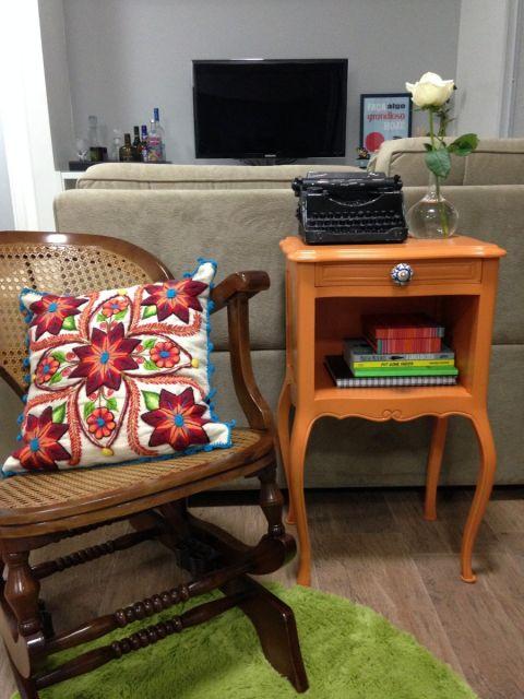 cadeira vintage decoração