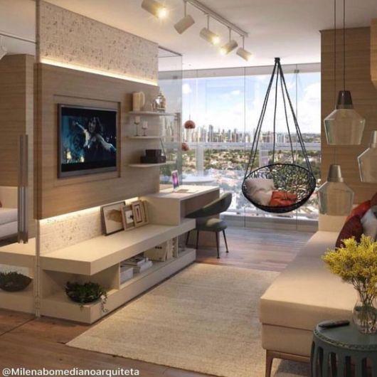 sala moderna apartamento