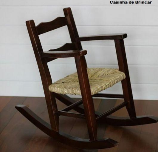cadeira infantil de madeira