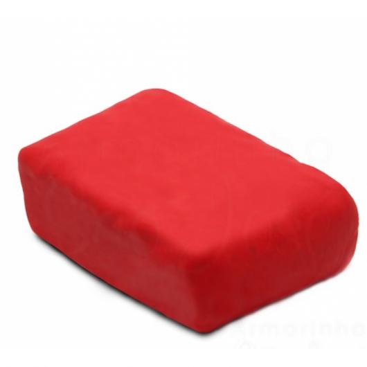 Como fazer massa de biscuit vermelha