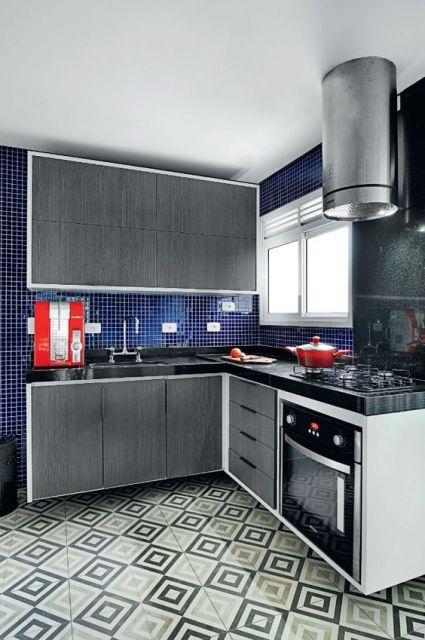 cozinha em L planejada