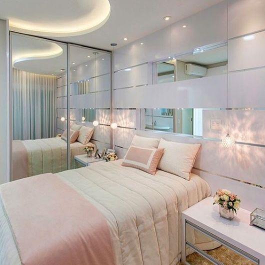 quarto feminino moderno