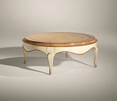 mesa redonda vintage