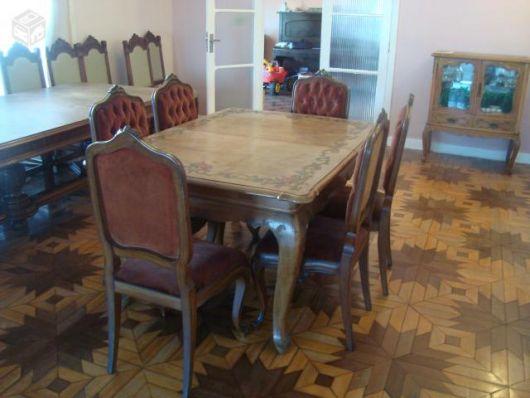 Mesa que combina bastante com o estilo provençal