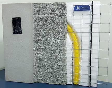 parede de isopor
