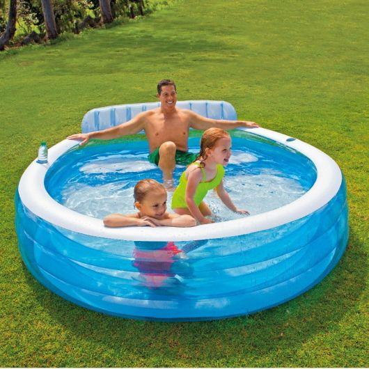 piscina redonda infantil