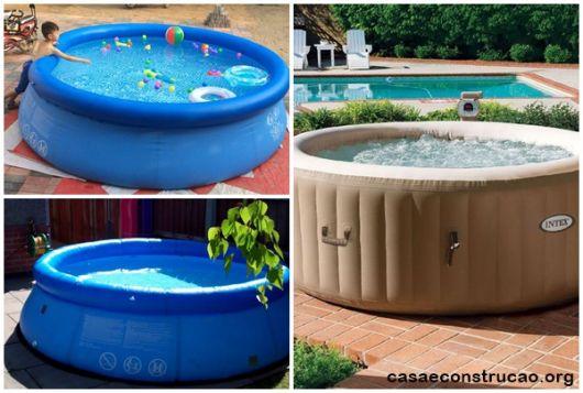 modelos de piscina redonda