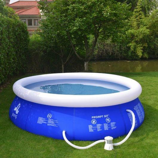 piscina com filtro