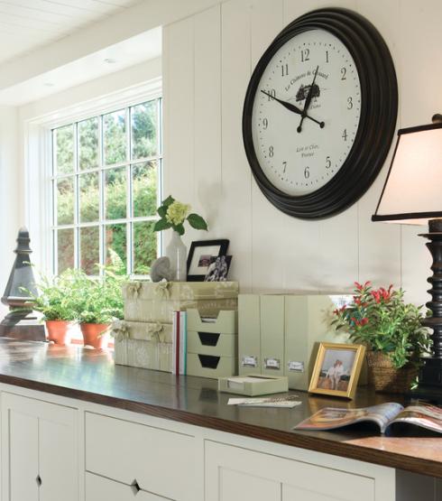 Relógio de parede grande para cozinha