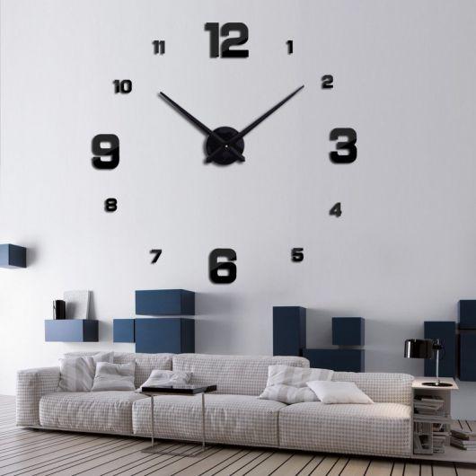 fe2a44e8f7a Relógio de Parede Grande – Como Usar na Decoração com 50 Modelos!