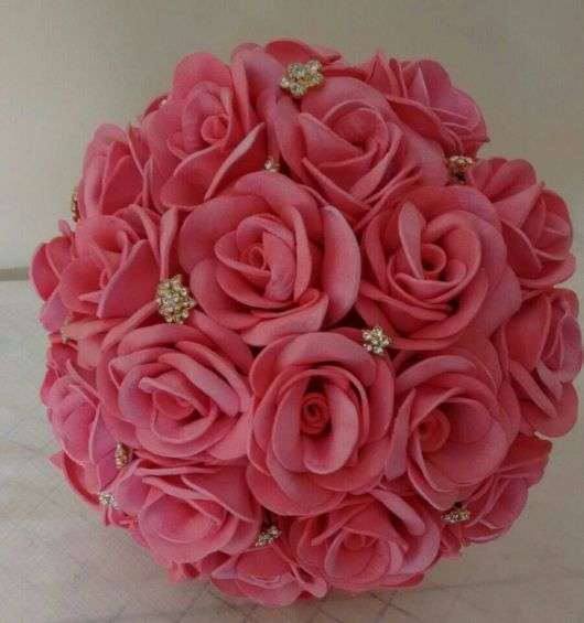 Rosa de EVA buque rosa claro