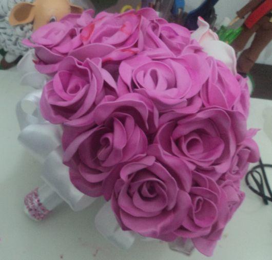 Rosa de EVA buque lilás