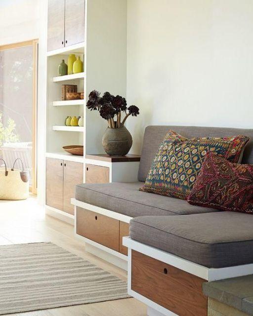 sofá planejado modelo