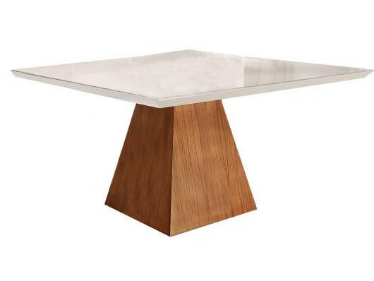 base em forma de cone para mesa quadrada