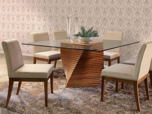 base para mesa quadrada diferente