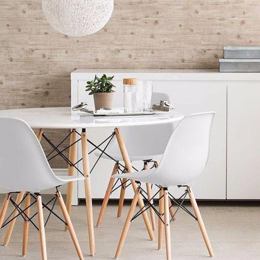 base simples para mesa de jantar redonda