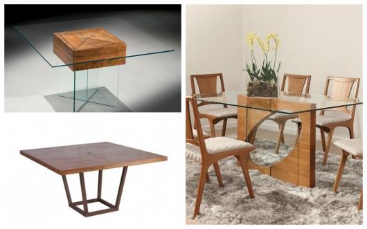 Dicas para você inovar na mesa de jantar quadrada