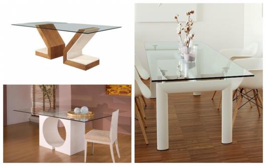 bases para mesas de vidro