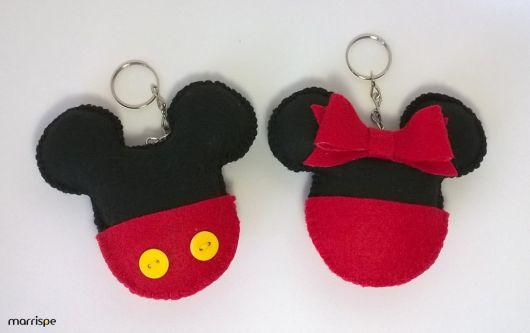 chaveiro de feltro Mickey