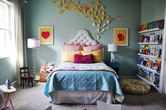 Você mesma pode fazer os enfeites para seu quarto