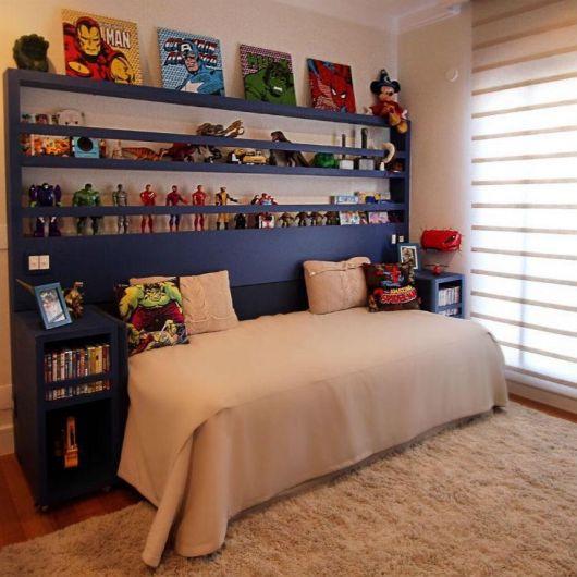 Enfeites para quarto inspirados em super heróis e quadrinhos