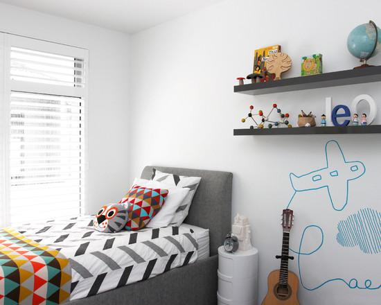 Enfeites para quarto de menino estudioso