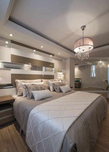 quarto moderno e neutro
