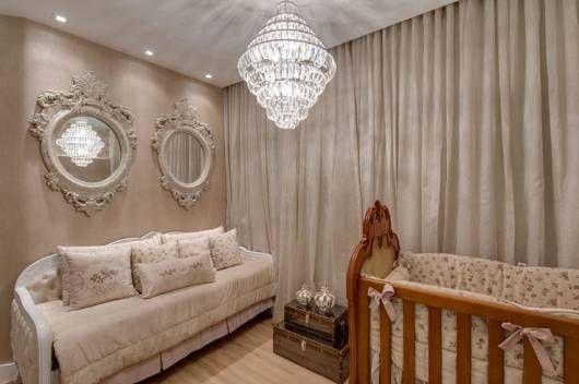 decoração provençal quarto bebê