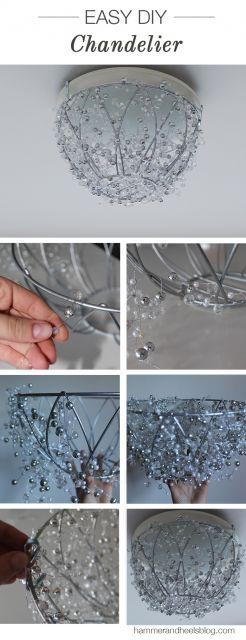 DIY lustre simples