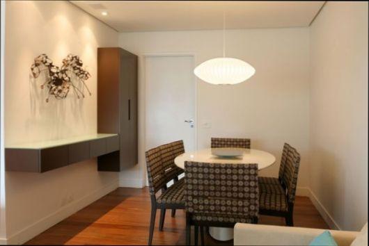 lustre para sala de jantar simples