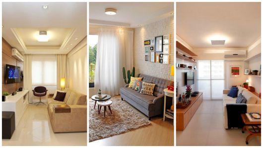 lustres simples para sala de estar