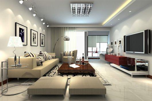 Lustre de teto são práticos para a sua sala
