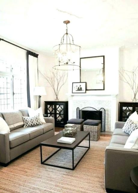 Dica de lustre minimalista para sala de estar