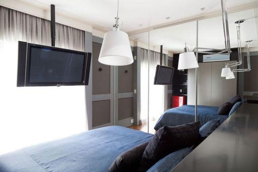 Pendente branco para compor a decoração de seu quarto